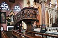 Cork SS Peter and Paul's Church Pulpit 2017 08 25.jpg