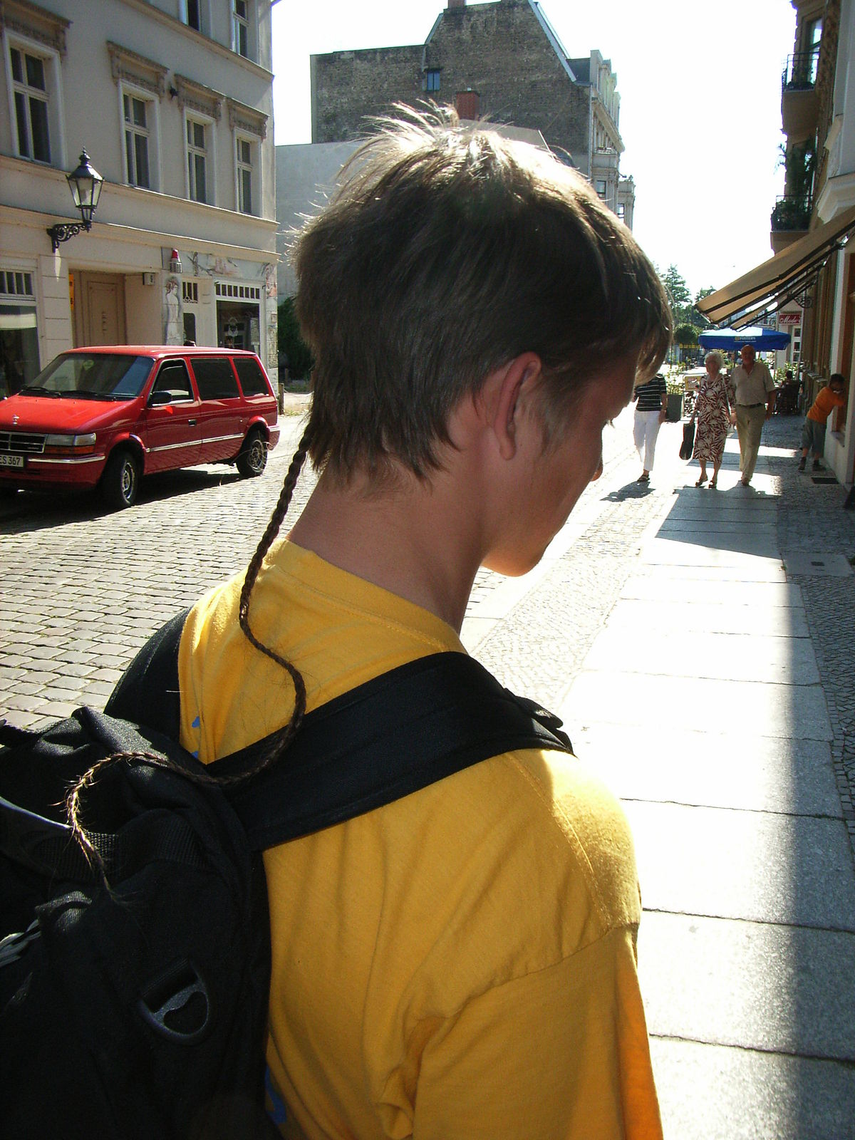 queue de rat coiffure � wikip233dia