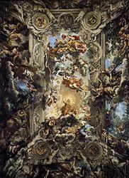 Pietro da Cortona: Triunfo de la Divina Providencia