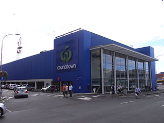Countdown (supermarket) - The same building rebranded as Countdown in 2010