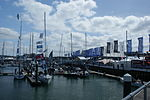 Cowes Yacht Haven during Cowes Week 2011 9.JPG
