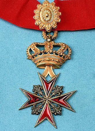 Order of Saint Stephen - Image: Cr Stefanus Paus en Martelaar aan lint