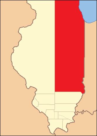 Crawford County, Illinois - Image: Crawford County Illinois 1816