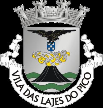 Lajes do Pico - Image: Crest of Lajes do Pico municipality (Azores, Portugal)