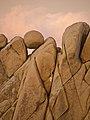 Criss Cross Rock in Jumbo Rocks (24076837798).jpg