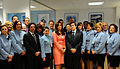 Cristina Fernández inaugurando oficinas de Aerolíneas Argentinas en Madrid.jpg