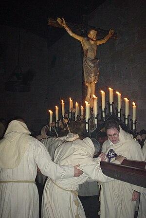 Cristo del Espíritu Santo in procession all th...