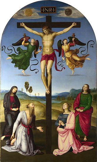 Mond Crucifixion - Image: Crocefissione Raffaello