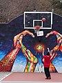 Crombie Park basketball court, The Esplanade, 2014 11 29 -a.jpg