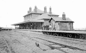"Railway stations in Cromer - Cromer High (then just ""Cromer"") shortly after opening"