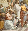 Cropped image of Pythagoras from Raphael's School of Athens.jpg