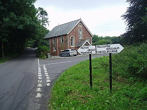 Ansty Cross - Image: Cross roads at Ansty cross geograph.org.uk 32700