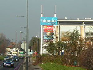 Purley Way - The Croydon Colonnades on Purley Way