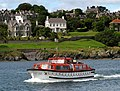 Cruise ship launch arriving at Bangor - geograph.org.uk - 1411743.jpg