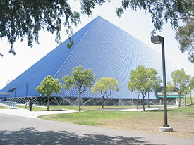 The Walter Pyramid University S Most Prominent Sporting Complex And Recognizable Landmark California State Long Beach