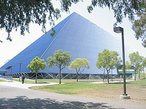 Walter Pyramid - External view of Walter Pyramid