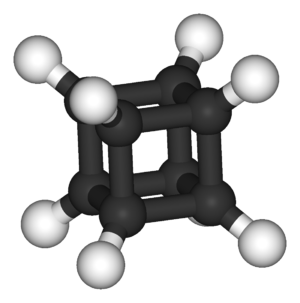 Cubane-type cluster - The structure of cubane, the parent compound of this class