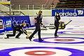 Curling damer Skellefteå CK Team AllTele vs Karlstads CK Team Ahlmarks 2013-01-27 01.jpg