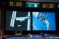 Cygnus 1 releasing seen from Mission Control.jpg