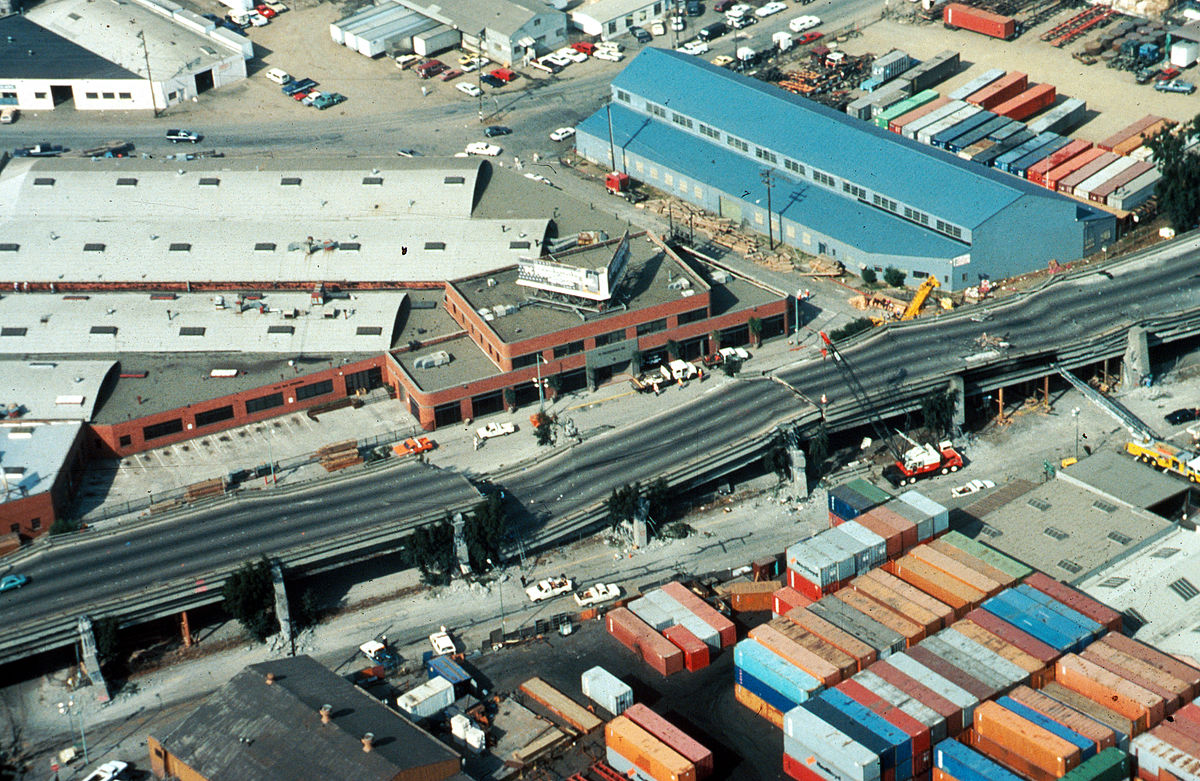 the events of the loma prieta 1989 earthquake