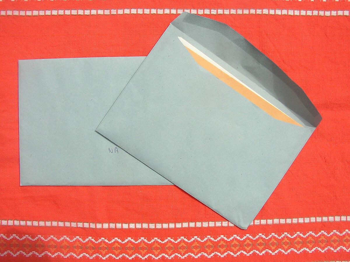 envelope wiktionary