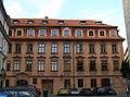Dům U zlatého (bílého) jednorožce (Malá Strana), Praha 1, Lázeňská 11, Malá Strana.JPG