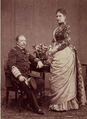 D. Luís e sua irmã, D. Antónia Hohenzollern-Sigmaringen, 1887.png
