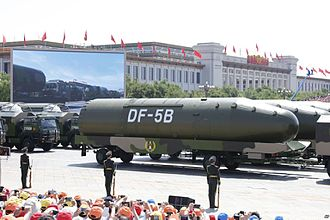 Dongfeng (missile) - DF-5B intercontinental ballistic missiles