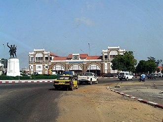 Railway stations in Senegal - Dakar station