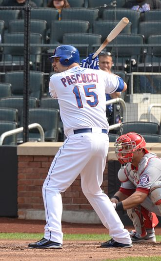 Valentino Pascucci - Pascucci with the New York Mets