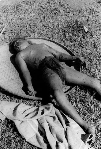 Vietnam War casualties - Viet Cong killed hundreds of Montagnard civilians at the village of battle of Dak Son, 1967