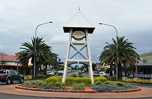 Dalby, Queensland - Main street of Dalby