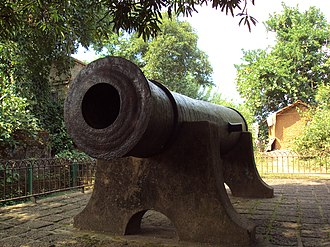 Bir Hambir - Image: Dalmadal Cannon, Bishnupur
