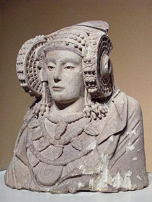 Дама из эльче знаменитый памятник