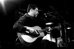 Damien Jurado performs at Dan's Silverleaf in ...