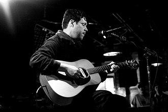 Damien Jurado - Damien Jurado performing in Denton, Texas in 2009