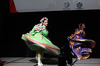 Dancing at the Wikimania 2015 Opening Ceremony IMG 7596.JPG