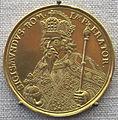 Daniel siegmund dockler, medaglia di imp. sigismondo, oro, 1700 ca..JPG