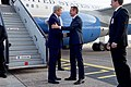 Danish Foreign Minister Jensen Prepares to Greet Secretary Kerry Upon His Arrival to Denmark (27677264846).jpg