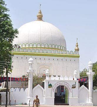 Osmanabad - Entrance Gate of Dargah Kwaja Shamshoddin Gazi Osmanabad