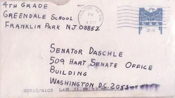 Daschle letter FBI
