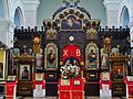 Daugavpils Kathedrale St. Boris & Gleb Innen Ikonostase.JPG