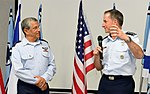 David Goldfein attends Israeli Air Force change of command ceremony, August 2017 (36523936916).jpg