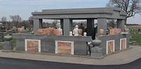 Davis Memorial (Hiawatha KS) from SE 1.JPG