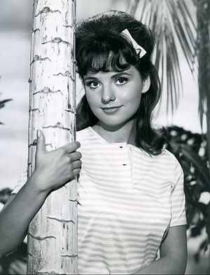 Dawn Wells as Mary Ann Dawn Wells Gilligan's Island 1964.jpg