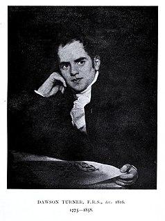 Dawson Turner English banker, botanist and antiquary (1775-1858)