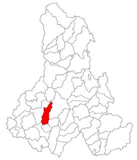 Dealu Commune in Harghita County, Romania