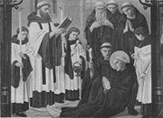 La muerte de San Beda