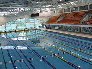 Debrecen Swimming Pool Complex - Image: Debreceni sportuszoda