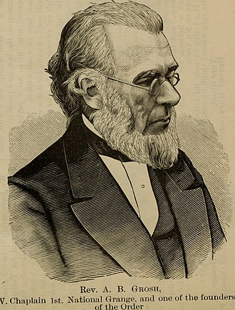 Aaron B. Grosh - Aaron Burt Grosh.